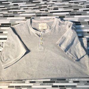 Weatherproof Shirts - Gray short sleeve tee shirt